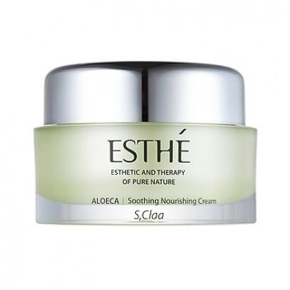 S,Claa Esthe Aloeca Soothing Nourishing Cream / Увлажняющий и питательный крем с экстрактом алоэ, 50мл