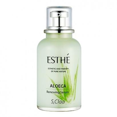 S,Claa Esthe Aloeca Renewing Serum / Восстанавливающая сыворотка с экстрактом алоэ, 50мл