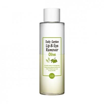 Средство для снятия макияж Daily Garden Olive Lip&Eye Remover, 100