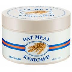 Высоко увлажняющий крем с овсянкой для тела Oat Meal Enriched Body Cream