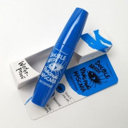 Tony Moly Водостойкая тушь для ресниц Double Needs Pang Pang Mascara Waterproof, 10.5