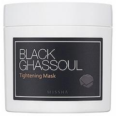 Маска для сужения пор с глиной и древесным углем  Black Ghassoul Tightening Mask
