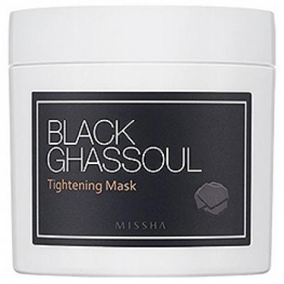 Маска для сужения пор с глиной и древесным углем  Black Ghassoul Tightening Mask, 95
