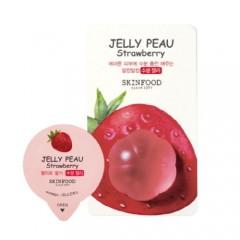 Увлажняющая витаминная маска для лица Jelly Peau Fruits Mask Wash Off Strawberry