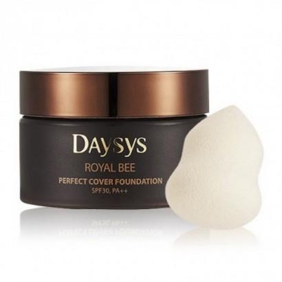 Daysys Royal Bee Perfect Cover Foundation SPF 30/Pa++ 21 / Тональная основа с экстрактом меда и прополиса, 35г