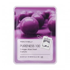Tony Moly Тканевая маска для лица с коллагеном Pureness 100 Collagen Mask Sheet Elasticity