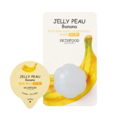 Увлажняющая витаминная маска для лица Jelly Peau Fruits Mask Wash Off Banana, 10