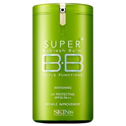 Super Plus Beblesh Balm Triple Functions Green SPF30 PA++ / ББ крем для кожи с расширенными порами, 40 гр