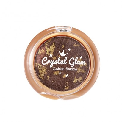 Crystal Glam Cushion Shadow (BR01 Glam Brown), 2.8гр