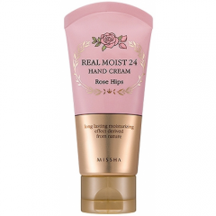 Увлажняющий крем 24  Real Moist 24 Hand Cream Rose Hips