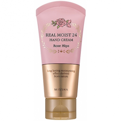 Увлажняющий крем 24  Real Moist 24 Hand Cream Rose Hips, 70