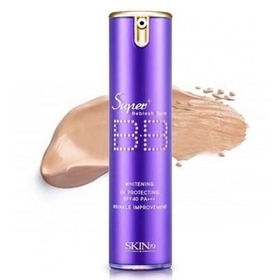 Super Plus Beblesh Balm Purple SPF40 PA+++ / Увлажняющий ББ крем, дозатор, 15 гр