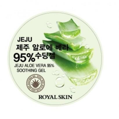 Jeju Aloe Vera 95% Snoothing Gel / Крем-гель с экстрактом 95% алое, 300мл