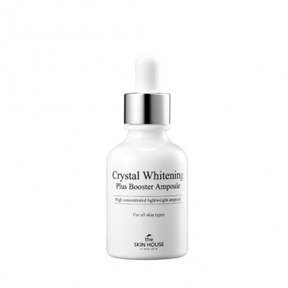 Crystal Whitening Plus Booster Ampoule / Концентрированная ампульная сыворотка, 30мл
