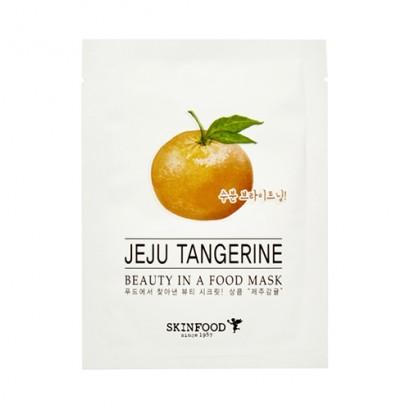 Тканевая маска с мандарином Beauty In A Food Mask Sheet Jeju Tangerine, 18