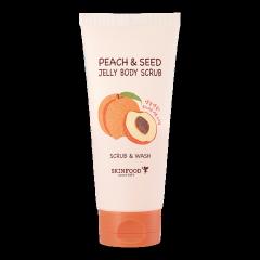 Гелевый скраб для тела с экстрактом персика  Peach & Seed jelly Body Scrub