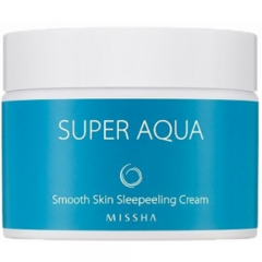 Разглаживающий ночной крем Super Aqua Smooth Skin Sleepeeling Cream