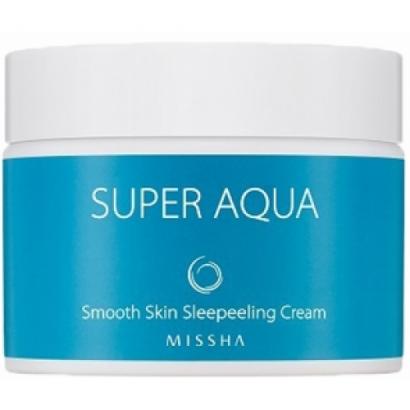 Разглаживающий ночной крем Super Aqua Smooth Skin Sleepeeling Cream, 50