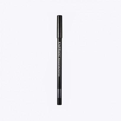 Waterproof Jelly Pencil Eyes 10 / Карандаш-подводка, оттенок 10-жемчужный черный, Сияющий водостойкий, 1,7г