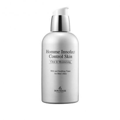 Homme Innofect Control Skin / Мужской матирующий тонер для сухой кожи, 130мл