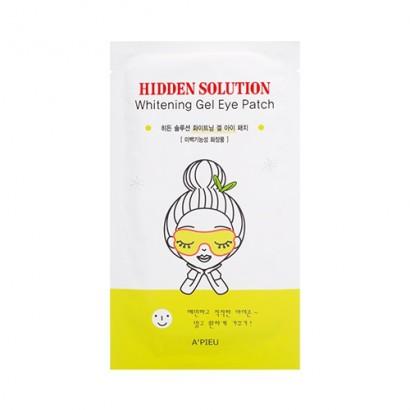Осветляющие гелевые патчи для глаз Hidden Solution Whitening Gel Eye Patch, 10