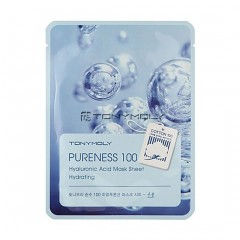 Tony Moly Тканевая маска для лица с гиалуроновой кислотой Pureness 100 Hyaluronic Acid Mask Sheet Hydrating