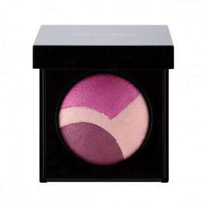 Tony Moly Трехцветные сияющие тени для век (01 - Розовые) Shimmer Triple Dome Shadow (01 – Runway Pink), 2.5
