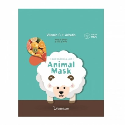 Маска для лица тканевая Овечка Animal Mask Series Sheep, 25
