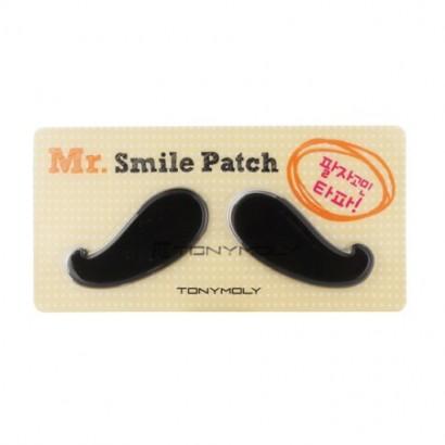 Tony Moly Гидрогелевые патчи от носогубных складок Mr. Smile Patche, 9