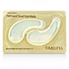 Tony Moly Гидрогелевые патчи с муцином улитки для кожи глаз Timeless Ferment Snail Eye Mask