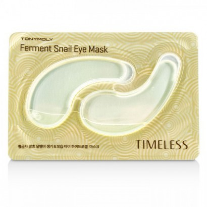Tony Moly Гидрогелевые патчи с муцином улитки для кожи глаз Timeless Ferment Snail Eye Mask, 10