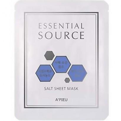 Гидрогелевая маска с солью мертвого моря Essential Source Salt Sheet Mask, 25