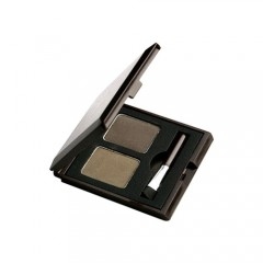Тени для бровей Choco Eye Brow Powder Cake #1 Khaki Grey