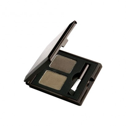 Тени для бровей Choco Eye Brow Powder Cake #1 Khaki Grey, 4