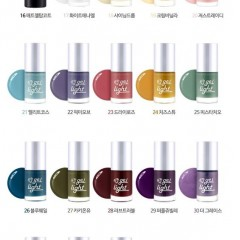 Tony Moly Гель-лак (GL26 - Синяя Полоса) Tony Nail Gel Light (GL26 -Blue Wale)