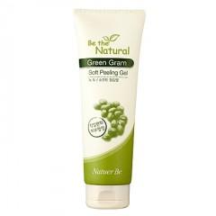 Natuer Be Be The Natural Green Gram Soft Peeling Gel / Гель-пилинг на основе натуральных растительных компантетов