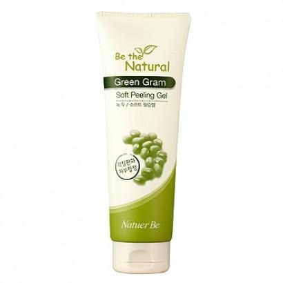 Natuer Be Be The Natural Green Gram Soft Peeling Gel / Гель-пилинг на основе натуральных растительных компантетов, 120ml