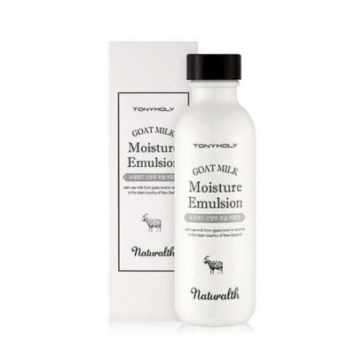 Tony Moly Эмульсия увлажняющая на основе козьего молока Naturalth Goat Milk Moisture Emulsion, 150