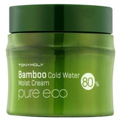 Tony Moly Охлаждающий увлажняющий крем с экстрактом бамбука Pure Eco Bamboo Cold Water Moisture Cream, 200