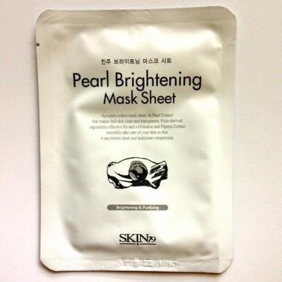 Pearl Brightening Mask Sheet / Тканевая маска с экстрактом жемчуга, 20мл