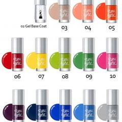 Tony Moly Гель-лак (GL14 - Весеннее Небо)  Nail Gel Light (GL14 - Spring Sky)