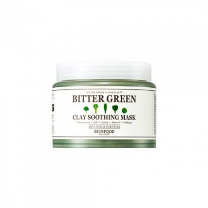 Успокаивающая глиняная маска Bitter Green Clay Soothing Mask, 145