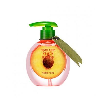 Гель для душа с экстрактом персика 240мл Farmer's Market Peach Shower Gel, 240