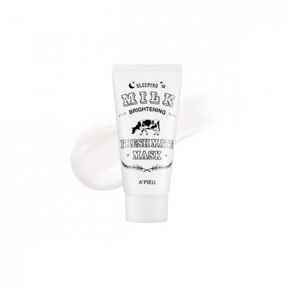 Ночная маска с молочными протеинами Fresh Mate Sleeping Milk Brightening Mask, 50