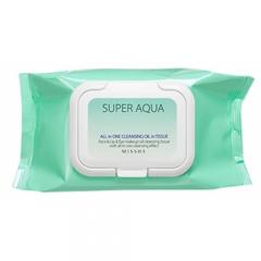 Очищающие увлажняющие салфетки для лица Perfection Cleansing Oil in tissue