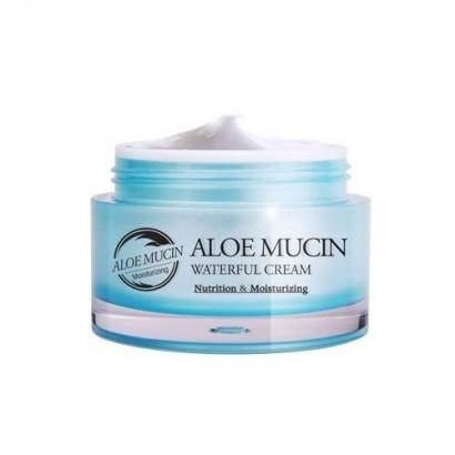 Aloe Mucin Waterful Cream / Крем  с алоэ и улиточным секретом, 50мл