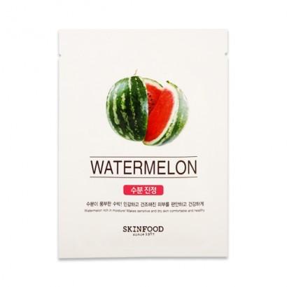 Тканевая маска с экстрактом арбуза Beauty In A Food Mask Sheet Watermelon, 18