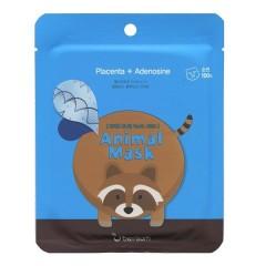 Маска для лица тканевая Енот  Animal Mask Series Raccoon