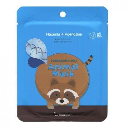 Маска для лица тканевая Енот  Animal Mask Series Raccoon, 25