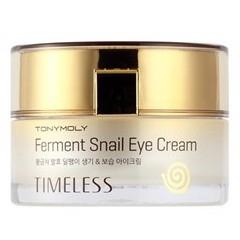 Tony Moly Восстанавливающий крем для кожи вокруг глаз с экстрактом улитки Timeless Ferment Snail Eye Cream